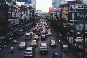 Dessiner dans le trafic